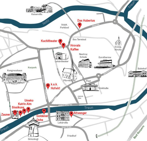 Culinary Hopping Stadtplan